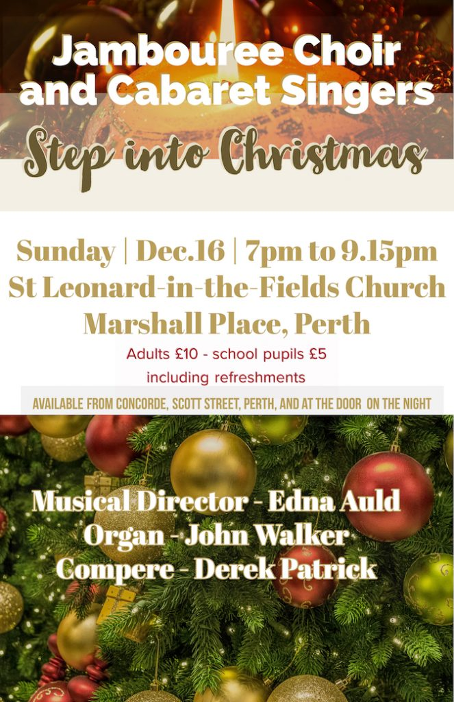 Step Into Christmas.Step Into Christmas Perth Action Of Churches Together