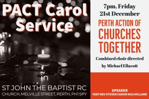 PACT Carol Service @ St John the Baptist RC Church | Scotland | United Kingdom